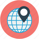 address, gps, location icon