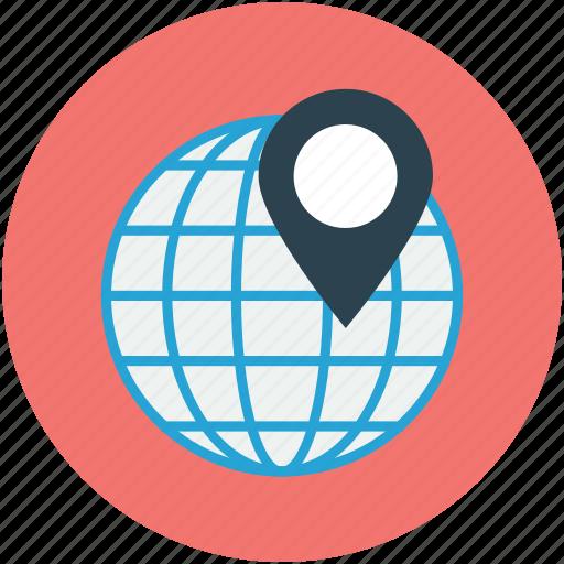 address, gps, location icon