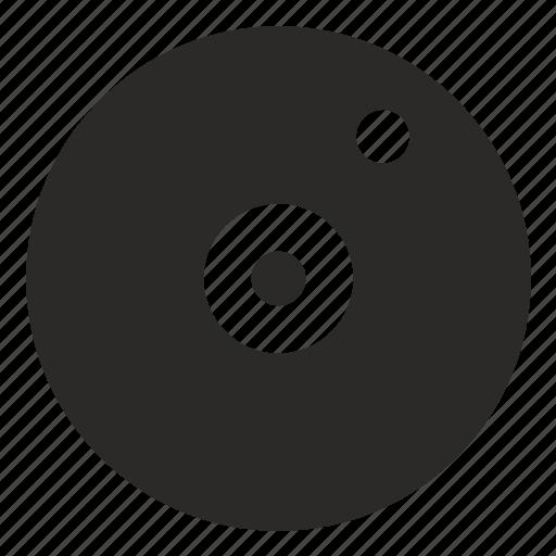 disc, dj, load, preloader icon