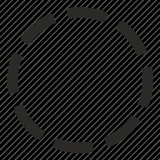 preloader, process, round icon