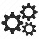 gear, preloader, settings icon
