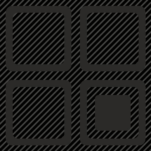 Preloader, process, square icon - Download on Iconfinder