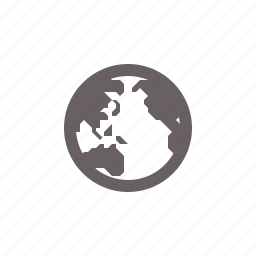 globe, navigation, pacific icon