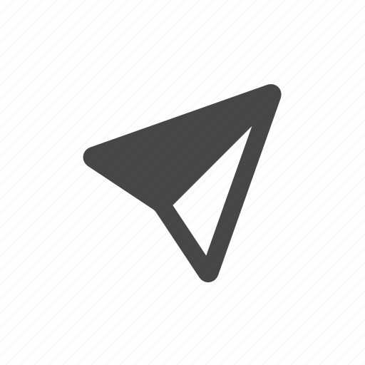 arrow, marker, market, navigation icon