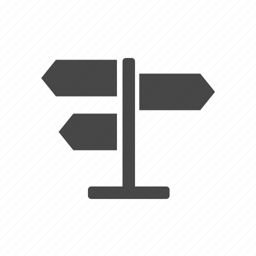 direction, navigate, navigation, signs icon
