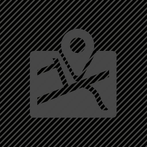 Location, map, navigate, navigation, road icon - Download on Iconfinder