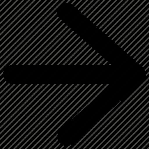 arrow, arrows, direction, icon, navigation, right icon