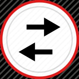 arrow, arrows, back, left, point icon