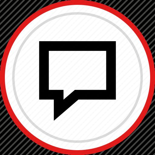 bubble, chat, conversation, talk, talking icon