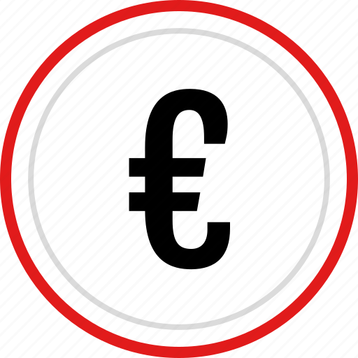euro, funds, money, pay icon