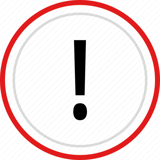 exclamation, info, point, sign, warning icon