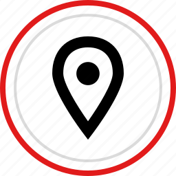 direction, gps, location, navigation, pin icon