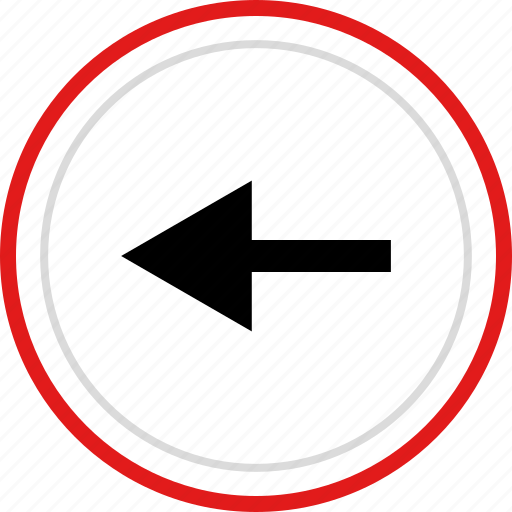 arrow, exit, left, point, pointer icon