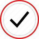 approved, check, mark, ok, safe icon