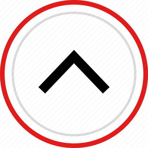 arrow, point, pointer, up, upload icon