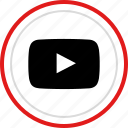 play, now, video, playback icon