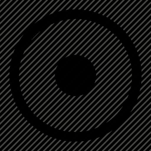 destination, mark, marker, point, round, start icon