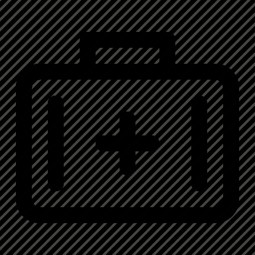 box, firstaid, kit, tool icon