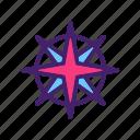 arrow, compass, direction, location, navigation, north, pointer