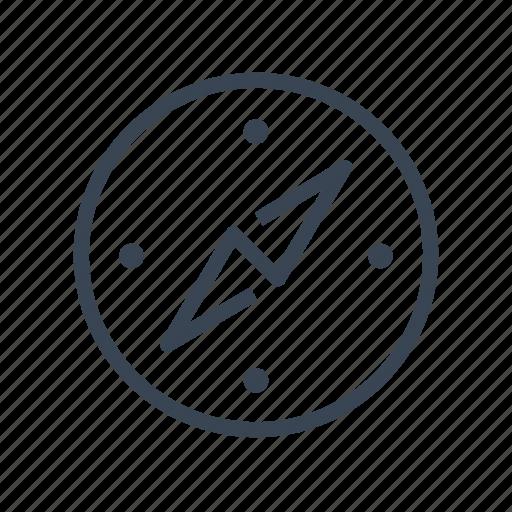 compass, direction, navigation, orientation icon