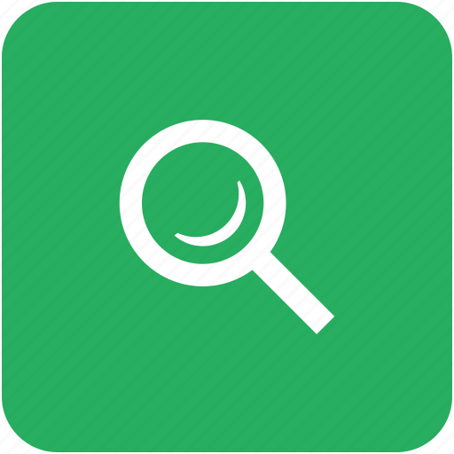 app, find, green, instrument, loop, magnifier, search icon