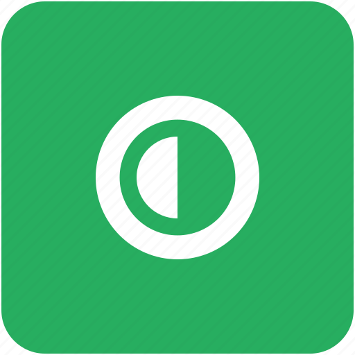 app, configuration, contrast, green, option, settings icon
