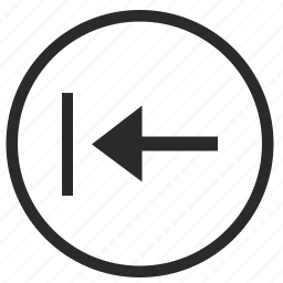 back, backspace, circle, edit, function, round, ui icon