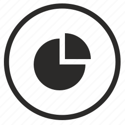 chart, data, diagramm, economic, report, round icon