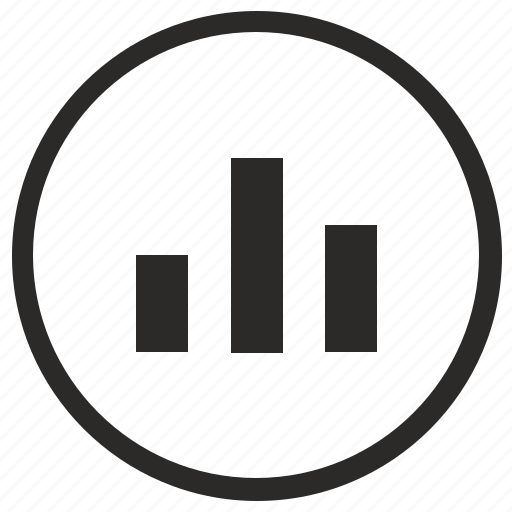 chart, data, economic, gistogramm, report icon