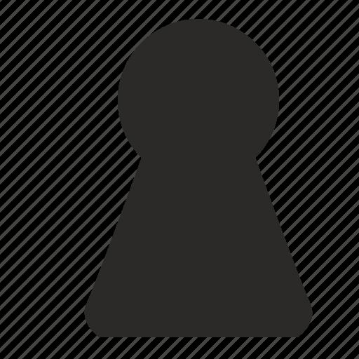 hole, key, keyhole, secret, security icon