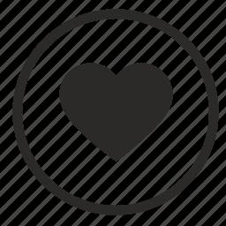 heart, like, love, nice, romantic icon