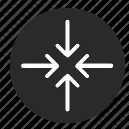 element, min, minimize, round, ui icon