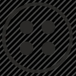 circle, menu, mode, points, round icon