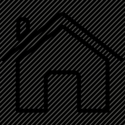 building, construction, farm, home, house, private, village icon