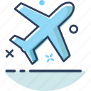 airplane, flight, navigation, plane, transportation, travel, vacation icon