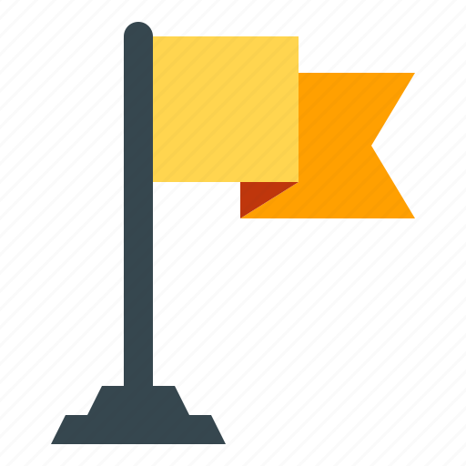 destionation, flag, map, navigation, target icon