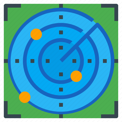 detect, device, distance, objects, radar icon