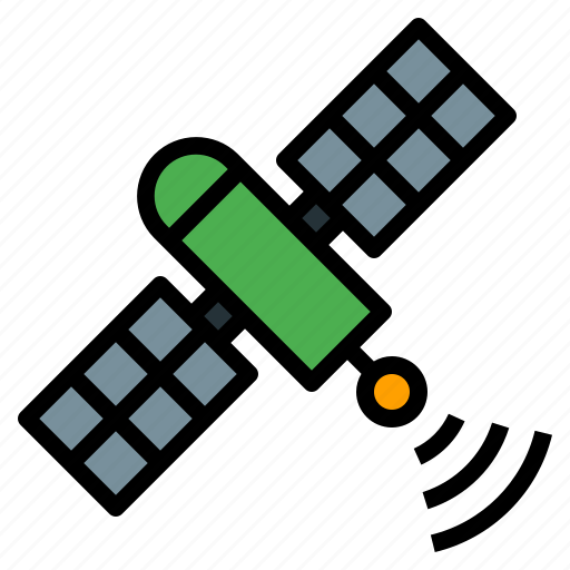 communication, gps, satellite, space, transmitter icon