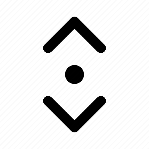 arrow, direction, location, navigation, outline, pin icon