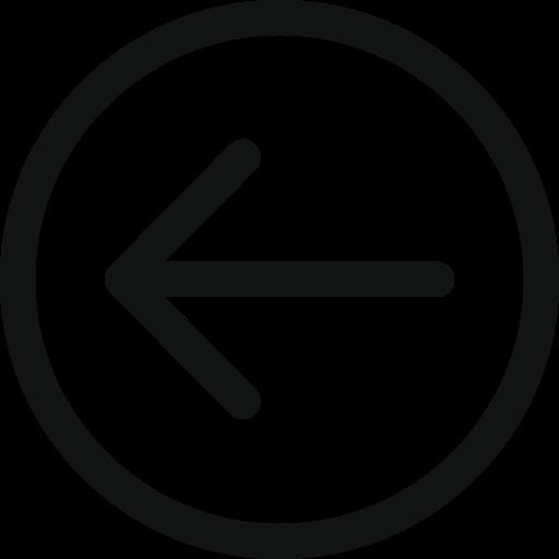 arrow, arrow circle, arrow left, arrowleftcircle, left icon icon