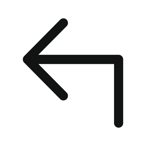 arrow, left, subdirectory, subdirectory arrow, subdirectoryarrowupleft icon