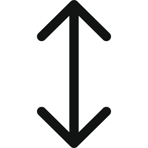 arrow, arrows, down, top, unitedarrowupdown, up icon