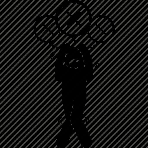 anxiety, mind, negative, paranoia, paranoid, thinking icon