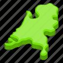 holland, location, map, netherland icon