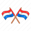 country, flag, national, netherlands