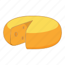 cheese, food, holland, slice icon