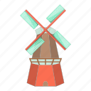 farm, holland, mill, windmill icon