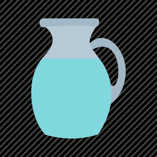 dairy, drink, glass, healthy, jar, milk, pitcher icon
