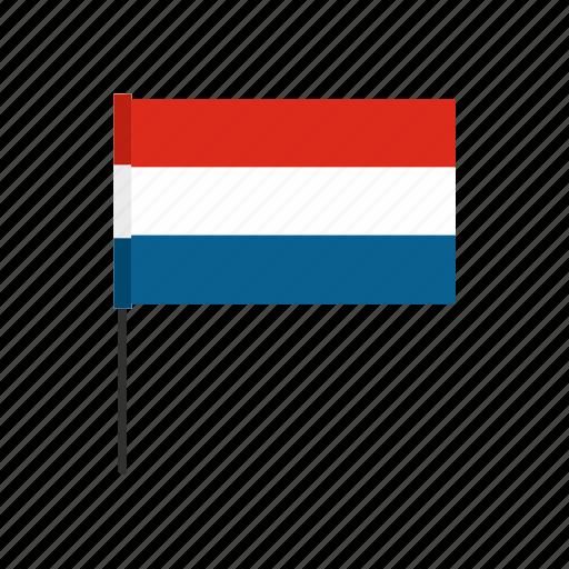 country, flag, nation, national, netherland, patriotic, patriotism icon