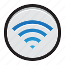 airport, apple, mac, network, signal, utility, wireless icon